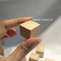 Mainan Hamster / Gnawing Wood / Kubus Kayu