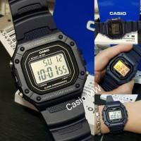 Terbaru Casio Original W-218H W218H W-218H-1A - Jam Tangan Pria -