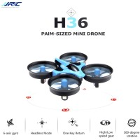JJRC H36 Mini Drone 2.4G 4CH 6Axis Gyro Headless Mode RTF Biru Blue
