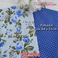 PRCK236 Perca Katun Jepang Couple 236 Motif uk 48x72cm Polkadot uk 48x