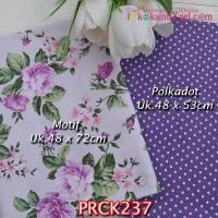 PRCK237 Perca Katun Jepang Couple 237 Motif uk 48x72cm Polkadot uk 48x