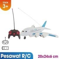 Remote Control Pesawat Air Bus Mainan Anak - 8004