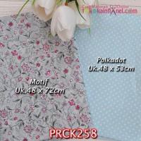 PRCK258 Perca Katun Jepang Couple 258 Motif uk 48x72cm Polkadot uk 48x