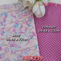 PRCK239 Perca Katun Jepang Couple 239 Motif uk 48x72cm Polkadot uk 48x