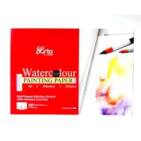 Arto Watercolour Painting Paper A3 200Gsm Kertas Cat Air Cellulose