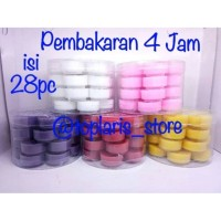 Lilin Candle Aromaterapi Table isi 28