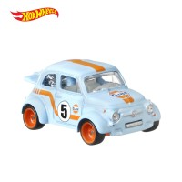 Hot Wheels Car Culture 60 s Fiat 500D Modificado - Mainan Mobil Balap
