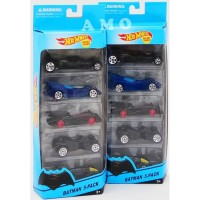 DIE CAST HOTWHEEL ISI 5PCS MAINAN ANAK DIE CAST BATMAN