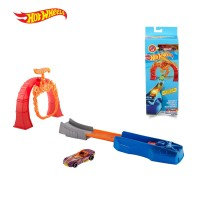Hot Wheels Classic Stunt Set 2 - Mainan Trek Mobil Balap