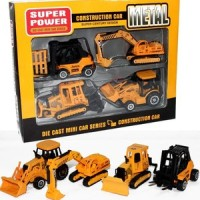 MAINAN DIE CAST METAL SUPER POWER 4PCS
