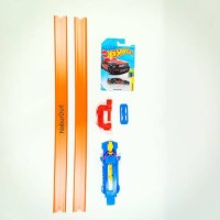 Hot Wheels Track Pack Builder Combo dgn Launcher dan Clamp Hotwheels