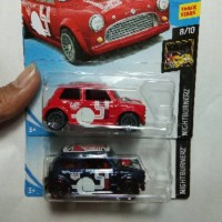 Hot Wheels Morris Mini biru edisi 2018