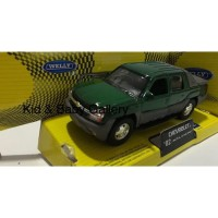 DIE CAST WELLY CHEVROLET 02 AVALANCHE MBWK 006
