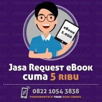 Jasa Request eBook: Fiksi Novel Light Novel utk Kindle - epub azw mobi