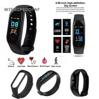 Smartwatch band health Bluetooth black
