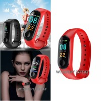 Smartwatch band health Bluetooth red