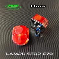Lampu Stop -Stop Lamp Model C70 Bisa Buat Semua Motor Universal Custom