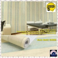 Wallpaper Strip Kayu Rustic Cream 45cm x 10m - Wallpaper Dinding GH020