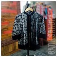 Batik Tunik Panjang Batik Cap - Batik Sakura Solo - elegant