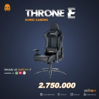 Kursi Gaming Digital Alliance Throne E Black   By astikom