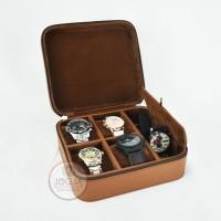 Travel Watch Box / Tempat Jam tangan travel / Kotak Jam Tangan