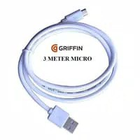 Kabel Charger GRIFFIN Micro USB 3M