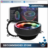 Heatsink Infinity LETO II RGB 1 Fan Double Ring For Intel and AMD