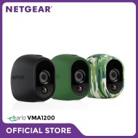 Netgear VMA1200 Arlo Camera Skin Set of 3 in Black Green Camouflage