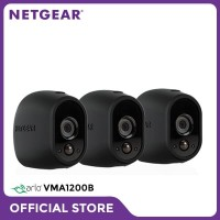 Netgear VMA1200B Arlo Camera Skin VMA1200B Set of 3 Black Skins