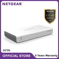 Netgear GC110 Insight Managed 8 Port Gigabit PoE Cloud Desktop Switch