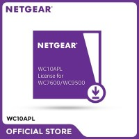 Netgear WC10APL 10 AP License for WC7600 / WC9500