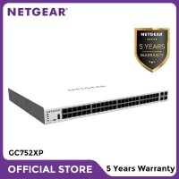 Netgear GC752XP Insight Managed 52 Port Gigabit PoE+ SmartCloud Switch