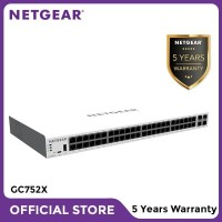 Netgear GC752X Insight Managed 52 Port Gigabit Smart Cloud Switch