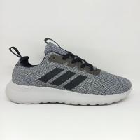 Sepatu Running Pria Adidas Neo Cloudfoam Abu Bahan Original Conponen