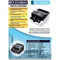 Mesin Hitung Uang ECOMAC MC-150VM / Money Bill Counter MC150VM