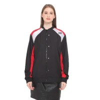 DAMN! I LOVE INDONESIA JACKET YOUTH IS GUN BLACK AND RED UNISEX