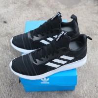 sepatu sport casual adidas solarboost sneakers premium termurah 2019