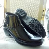 Mandiens Pdh sol tebal kulit asli export quality SJ k282 BM hitam 41