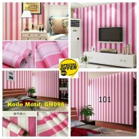 Wallpaper Motif Salur 45cm x 10m - Wallpaper Dinding GH096