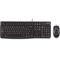 Logitech Desktop MK120 - Keyboard Mouse Combo USB