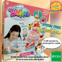Whipple Craft Creation mainan desain cake original Epoch
