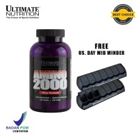 AMINO 2000, 150 Tabs - Ultimate Nutrition Official