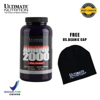 AMINO 2000, 330 Tabs - Ultimate Nutrition