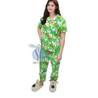Baju Tidur Wanita Keropi CP Setelan Piyama Wanita Setelan Baju Tidur