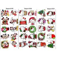 topping makanan/sticker makanan/sticker nasi/edible stamp S146-S157
