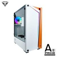 PRIME A-[O] WHITE - PREMIUM GAMING CASE 0.7mm STEEL