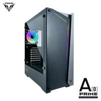 PRIME A-[O] BLACK - PREMIUM GAMING CASE 0.7mm STEEL