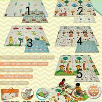 Evamatic Karpet Lipat Playmat Anak Karpet Bayi Folding bonus tas