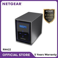Netgear RN422 NAS Network Storage Desktop 2 Bay Server Backup