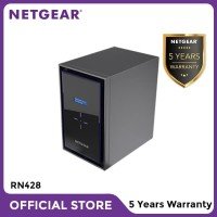 Netgear RN428 NAS Network Storage Desktop 8 Bay Server Backup